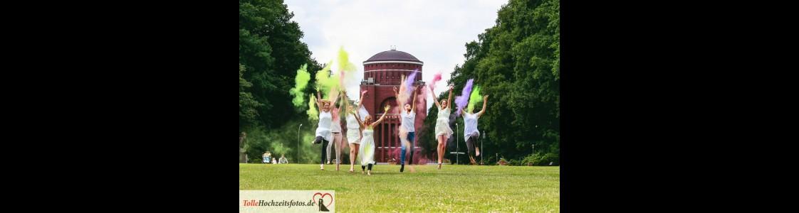 Holi Fotoshooting in Hamburg
